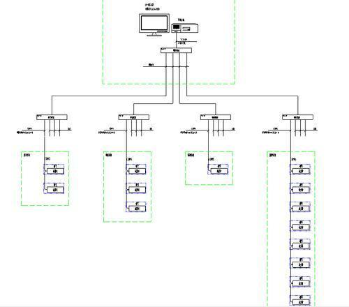 该系统主要采用分层分布式计算机网络结构,如系统结构图所示:站