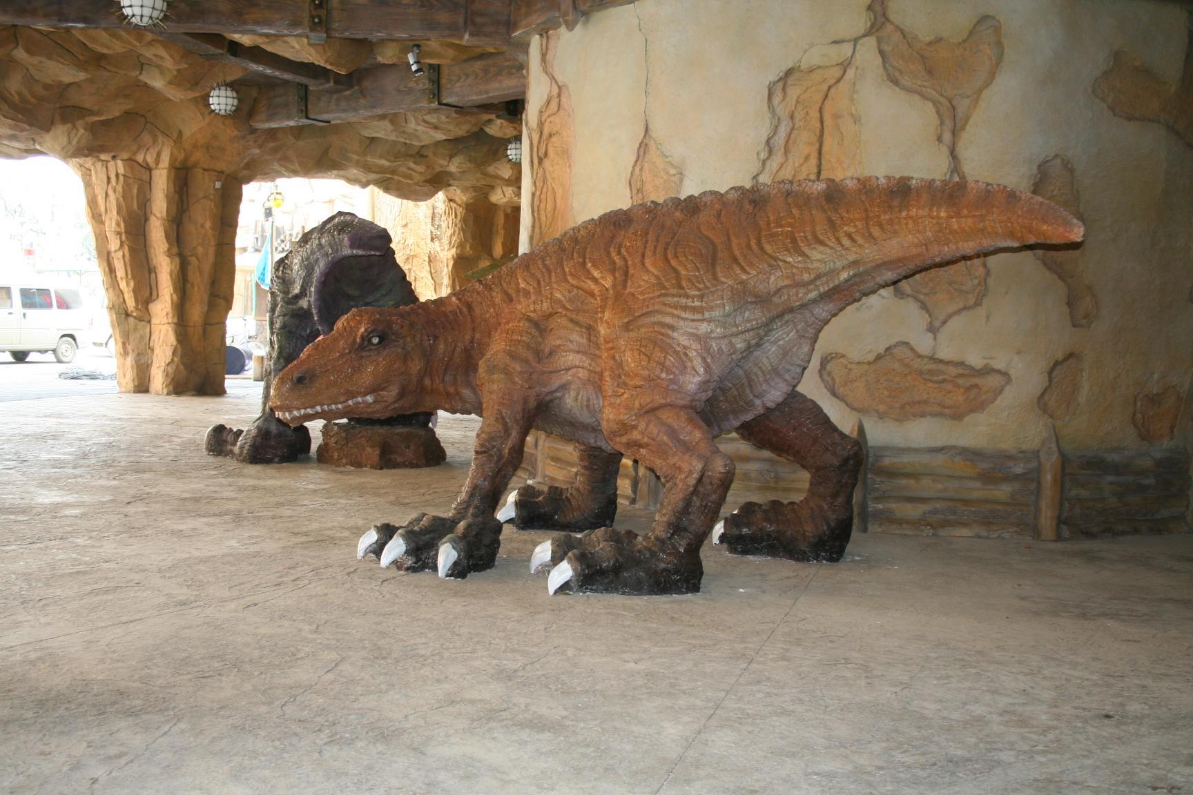常州恐龙园恐龙的照片