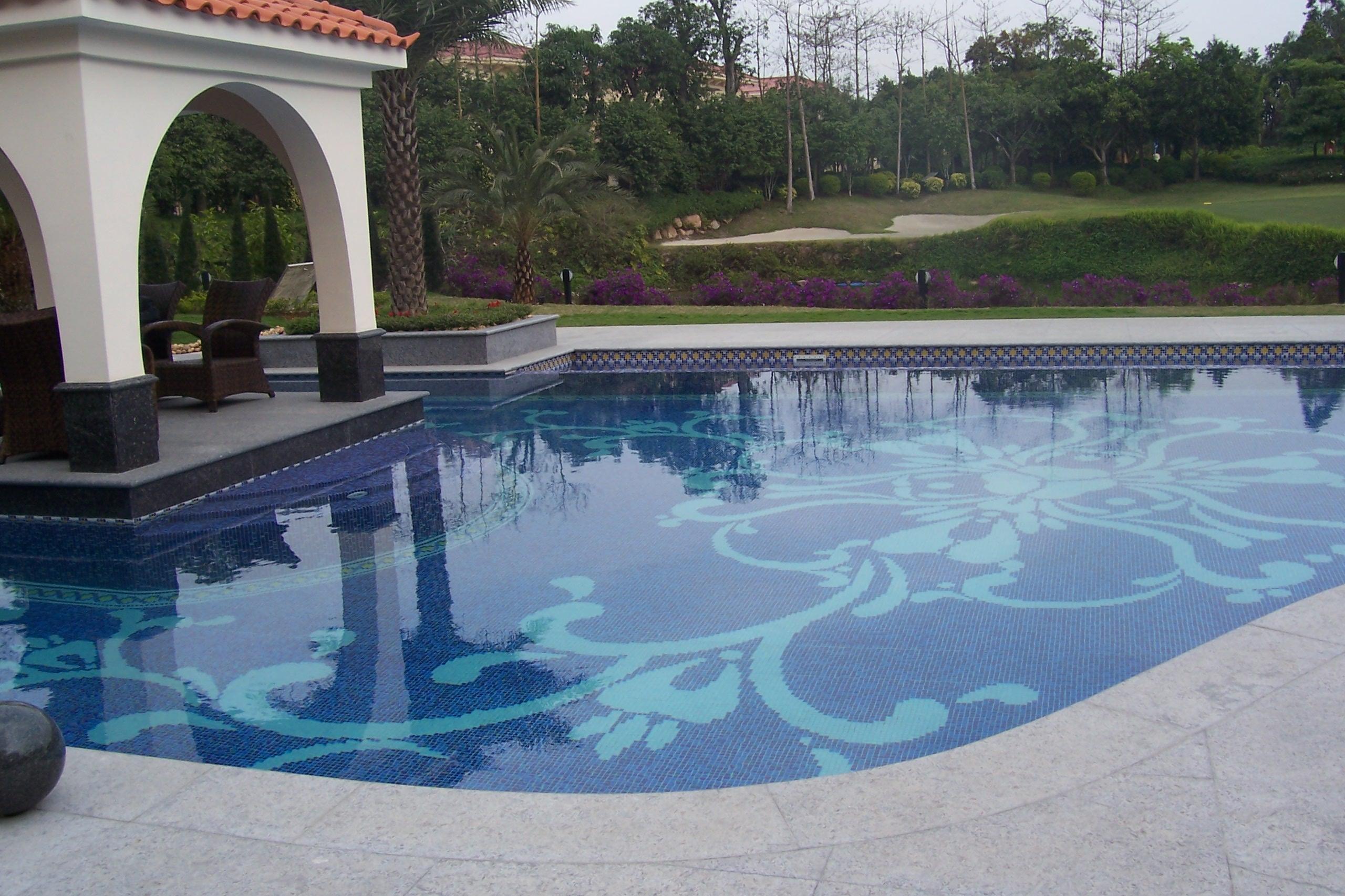 深圳观澜高尔夫私家别墅泳池