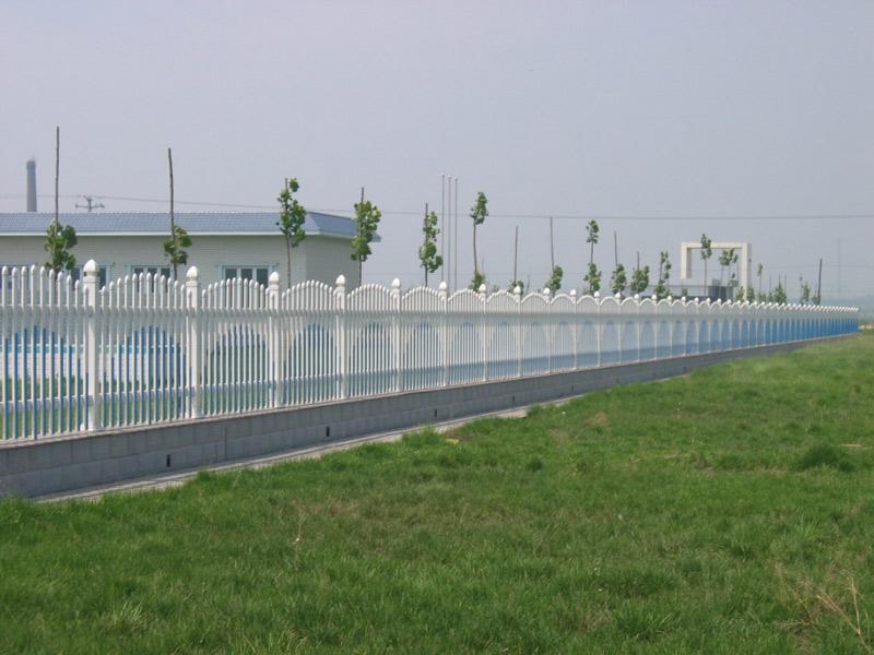 秦皇岛污水处理厂pvc护栏