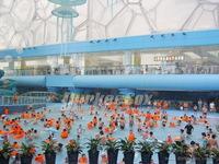 水立方嬉水乐园成功应用纤维织物空气分布系统(索斯风管)