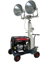 工程移动应急照明车(可作动力源)