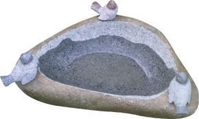 自然石山石鸟钵GGV256