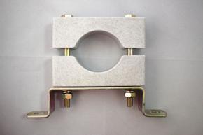高压单孔高压带支架电缆固定夹具型号