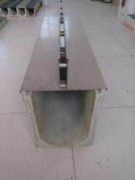 可组配不锈钢,镀锌钢缝隙盖板;具有树脂混凝土成品