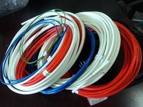 硅橡胶玻璃纤维管,内纤外胶管