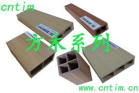 供应绿可生态木塑(WPC)方木条板系列
