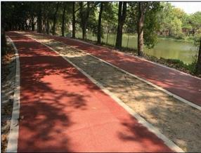 广州彩色透水地坪