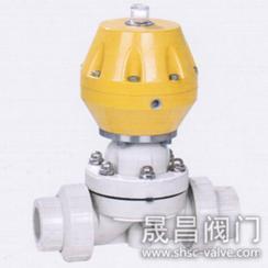 气动PPH隔膜阀-G611-PPH