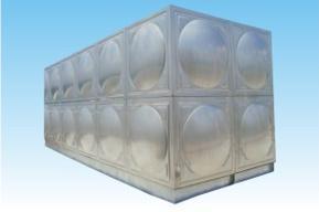 韦尔森大型不锈钢组合水箱