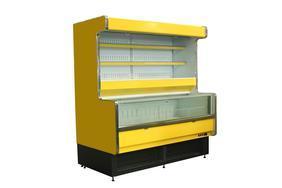 风幕柜 冷藏陈列柜 生鲜丸子速冻柜 超市展示柜