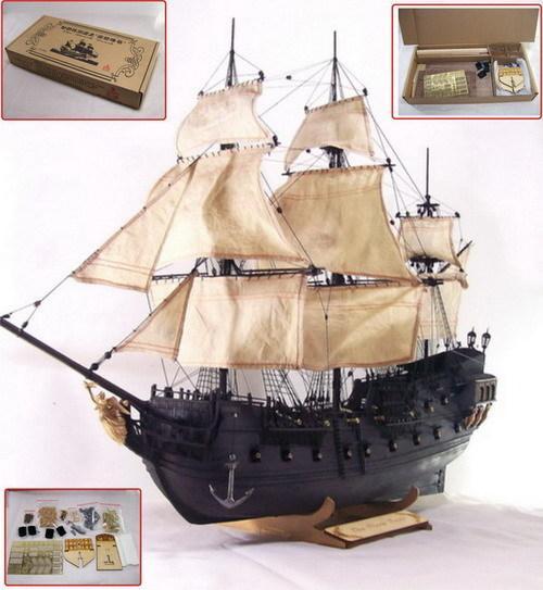 加勒比海盗黑珍珠帆船模型(13377853851)