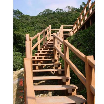 室外景观钢结构楼梯