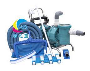游泳池吸污机水泵鱼池吸污泵水下吸尘器池底手动清洁器手动吸污机