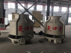 河南菱宇40吨圆形逆流式冷却塔