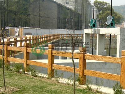 护栏,栏杆,仿木护栏,仿木栏杆