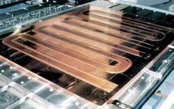 大型铜合金水冷板