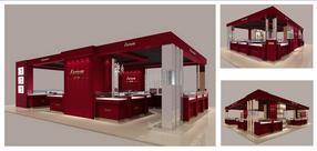 珠宝展示柜制作/珠宝展示柜设计/珠宝展柜
