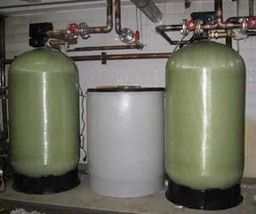 50吨大型发电锅炉除盐水处理系统