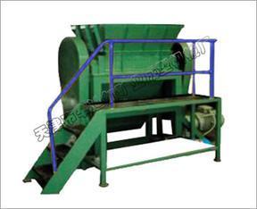 垃圾处理设备 陈腐垃圾处理 PSJ系列双轴剪切破碎机