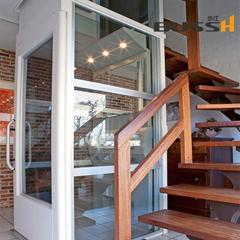 100%进口小型家用电梯 进口别墅电梯 无底坑螺杆式电梯