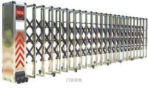 昆山伸缩门,昆山精抛光伸缩门专业生产制造