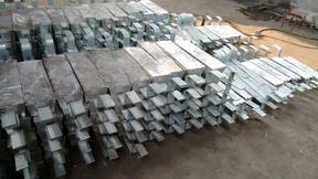 支架式铝阳极、防腐铝阳极块
