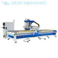 蓝象1325板式家具生产线 双工位 四工序开料机的价格