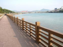 仿木护栏,仿木栏杆,河道栏杆,流域整治,水利工程