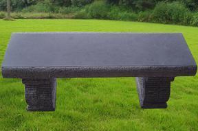 黑色石灰石长凳MCF242