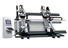 塑钢门窗四角焊接机,无缝焊接机,中空玻璃生产线