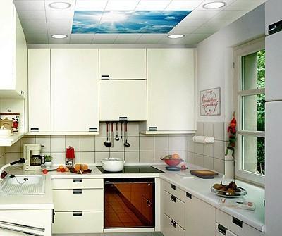 厨房集成吊顶效果图
