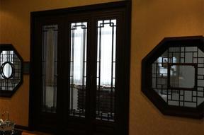 实木仿古窗 擦色工艺 浑厚天成