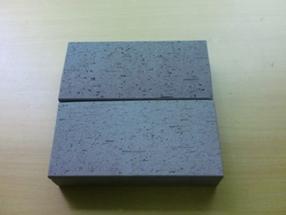 易道5公分灰色空心烧结页岩路面砖