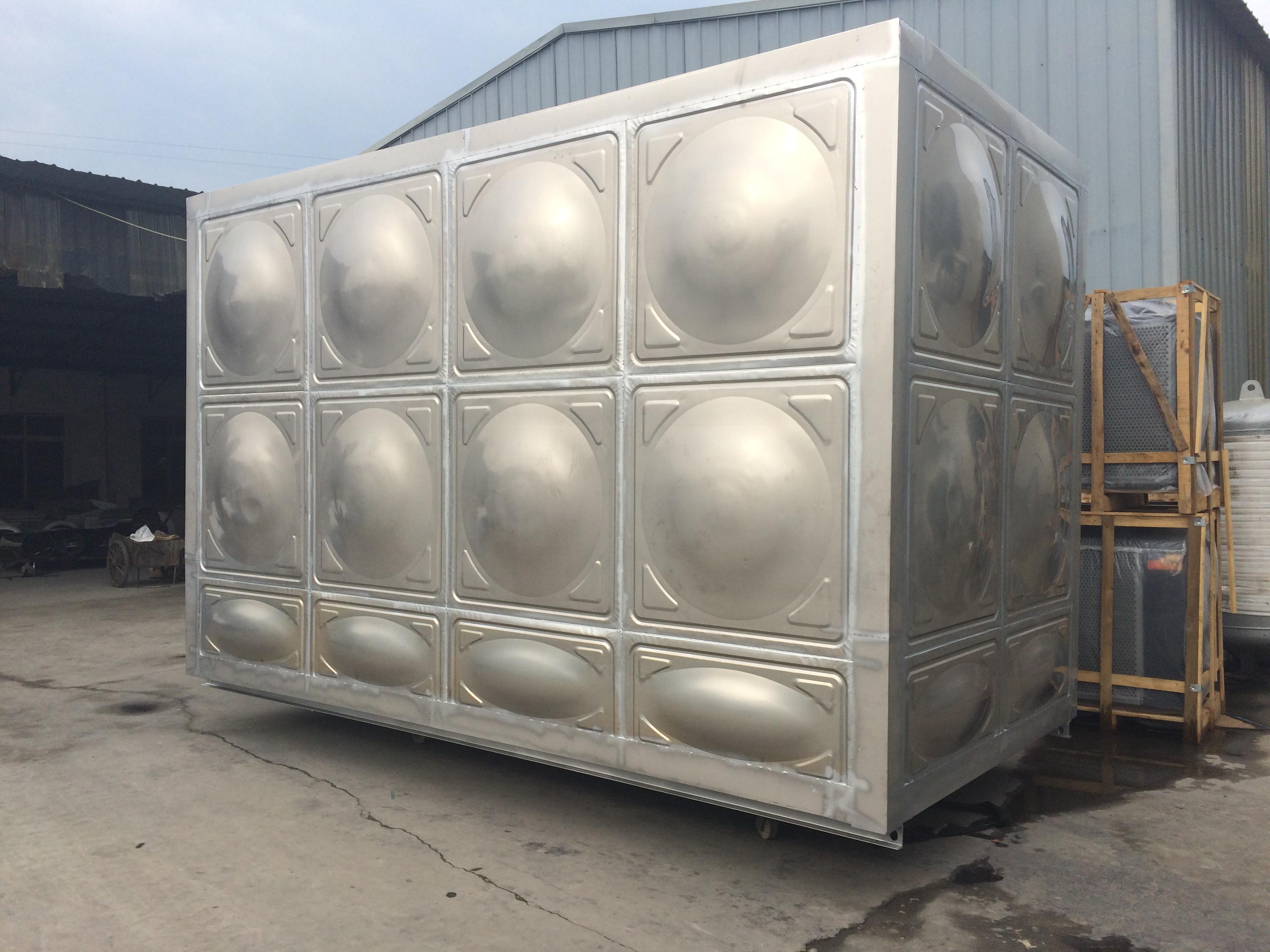 组合式不锈钢水箱|方形不锈钢保温水箱