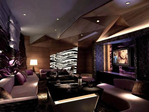高档夜总会设计效果图 上海娱乐会所设计公司