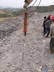 土石方石头爆破开挖拆除设备