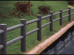 仿木护栏,绿化栏杆