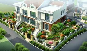 怎样选择一个合适自己风格的别墅私家花园?