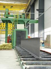 钢结构抛丸机 H型钢抛丸机 钢结构除锈机