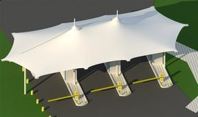 北京PVC膜 景观膜结构工程