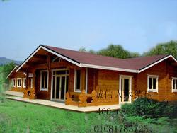 木结构别墅、木屋、定制木屋