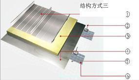 铝镁锰金属屋面系统65/430
