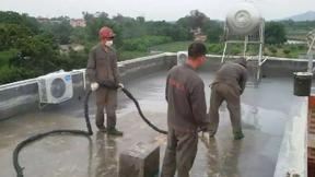 聚脲弹性防水涂料屋顶防水项目工程