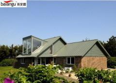 钛锌板金属屋面