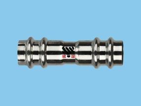 薄壁不锈钢管双密封多卡压式连接产品