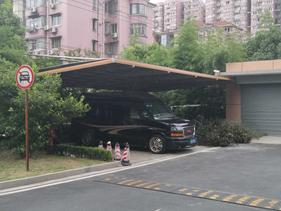 上海别墅铝合金车棚安装厂家至尊卡尔