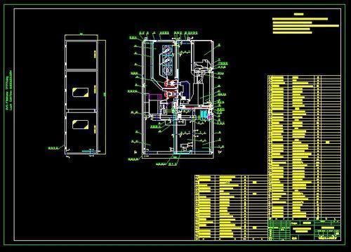 电子版的CAD图纸如何打印局部的内容,谢谢图片