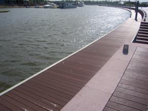 塑木地板,户外地板、码头地板