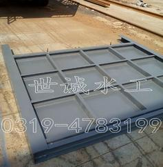 世诚水工平面钢闸门定制安装